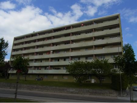 STAVAY-MOLLONDIN 21   2 pièces   rez Sud   La Chaux-de-Fonds