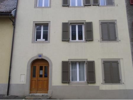 PONT 4 | 1 pièce | 1er Est | La Chaux-de-Fonds