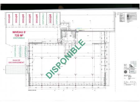BILLODES 55 | locaux de 725 m2 | Le Locle | rez