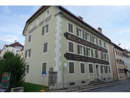 HOTEL-DE-VILLE 8  | 2 pièces | Rez Nord | La Chaux-de-Fonds