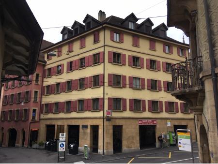 MOULINS 51 | 2 pièces | Neuchâtel | 4ème Sud-Est