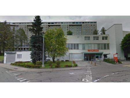 PLACE DU TRICENTENAIRE 1 | local | 1'378 m2  | Rez| La Chaux-de-Fonds