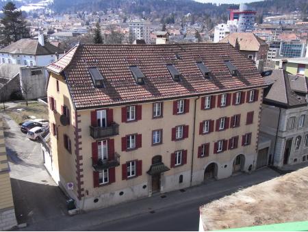 GRENIER 30 |entrepôt | rez inf. | La Chaux-de-Fonds