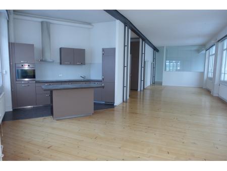 JAQUET-DROZ 5 | loft | 120 + 60 m2 | 3ème | La Chaux-de-Fonds