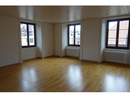 FLEURS 15 | 4,5 pièces | 3ème étage | La Chaux-de-Fonds