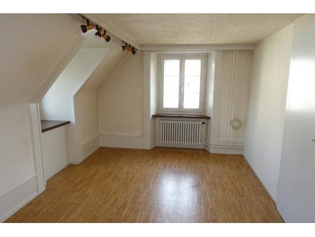 BALANCE 17 | 3 pièces | 3ème étage | La Chaux-de-Fonds