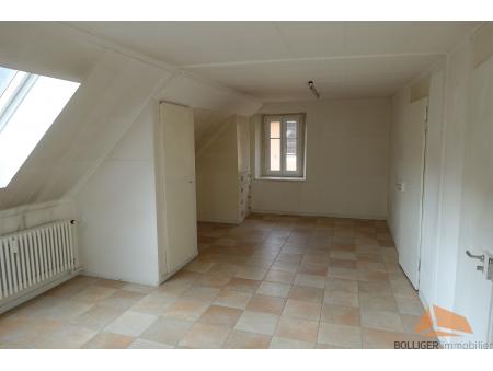 DANIEL-JEANRICHARD 3 | 4 pièces | 3ème étage + combles | Le Locle